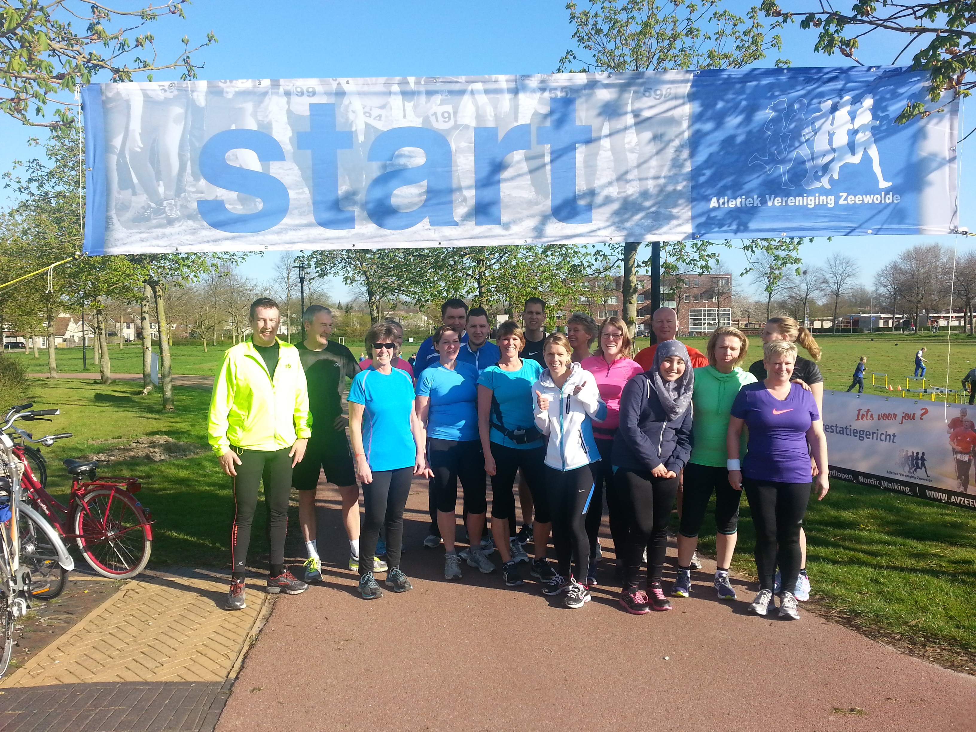 Finishers Opstartgroep Januari 2015